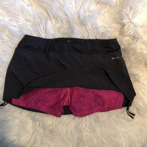 Nike dri fit workout skirt